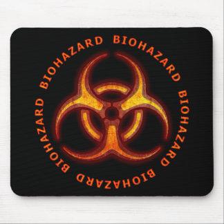 Biohazard Zombie Warning Mouse Pad
