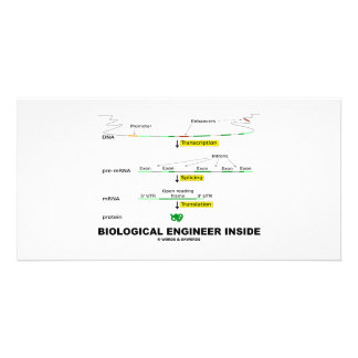 Biological Engineer Inside Picture Card