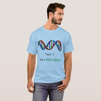 Biologist/DNA/Scientist T-shirt