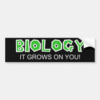 Biology Bumper Sticker