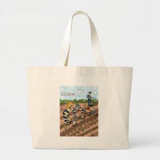 Biology Cartoon 9377 Large Tote Bag