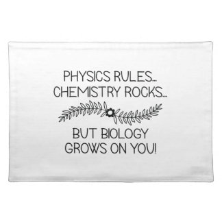 Biology Grows On You Placemat