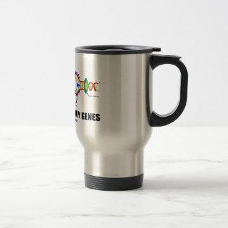 Biology Is In My Genes (DNA Replication) Travel Mug