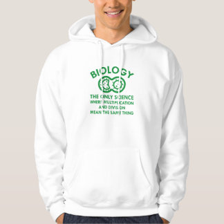 Biology Is In My Genes Hoodie