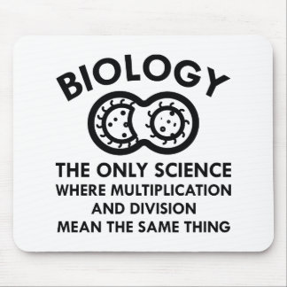 Biology Is In My Genes Mouse Pad