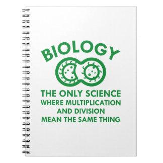 Biology Is In My Genes Notebooks