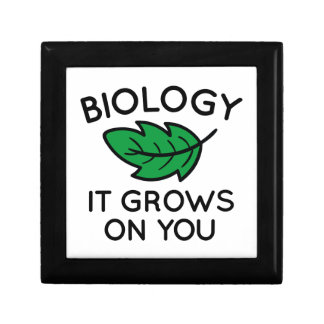 Biology It Grows On You Gift Box