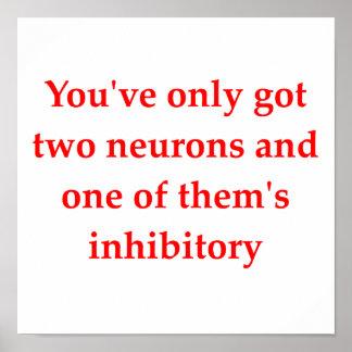 biology joke poster