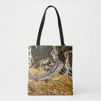 Biology_Of_Baby_Bearded_Dragon_Tote_Bag_Full_Print Tote Bag