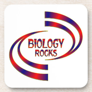 Biology Rocks Coaster