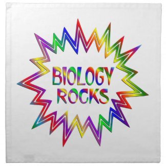 Biology Rocks Napkin