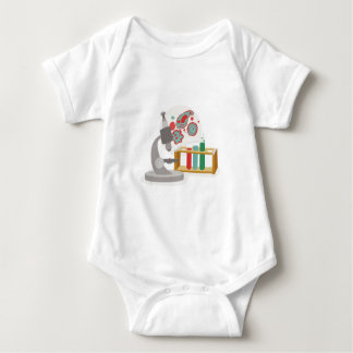 Biology Science Baby Bodysuit