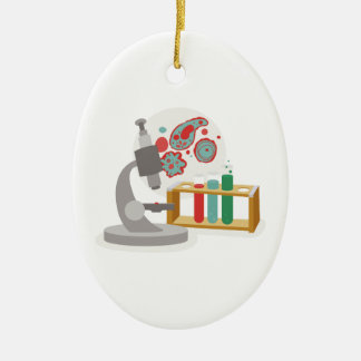 Biology Science Ceramic Ornament
