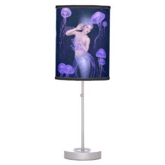 Bioluminescence Jellyfish Mermaid Table Lamp