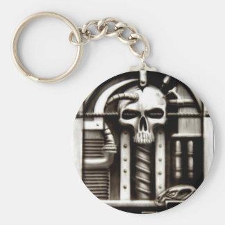 Biomechskull Keychain