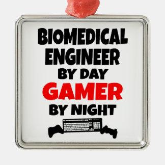 Biomedical Engineer Gamer Metal Ornament