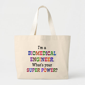 Biomedical Engineer Large Tote Bag