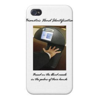 Biometric Hand Identification iPhone 4 Cases