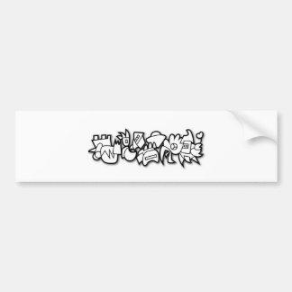 Biomorph Bumper Sticker