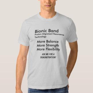 Bionic Band, Proton Alignment Resonance Technol... Tshirts