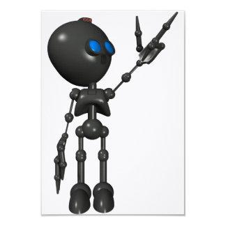 Bionic Boy 3D Robot - Finger Guns 2 - Original Card