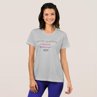 Bionic Grandma  Knee replacement t-shirt