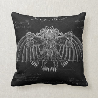 Bioshock: Vutruvian Songbird Throw Pillow