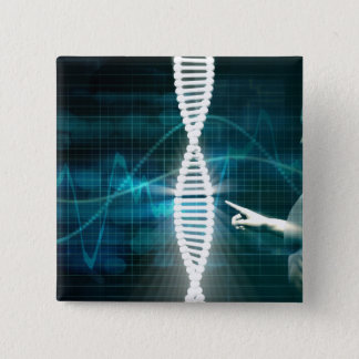 Biotechnology as a Research Abstract Background 2 Inch Square Button