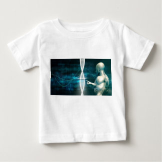 Biotechnology as a Research Abstract Background Baby T-Shirt