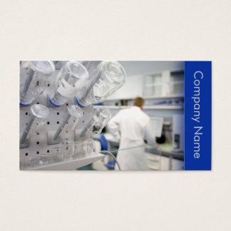 Biotechnology / Biotechnologist Chemist Laboratory Business Card