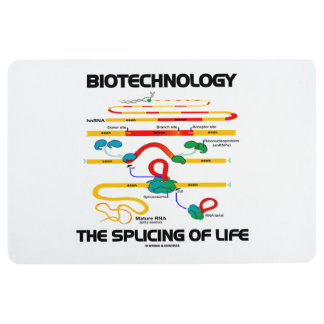 Biotechnology The Splicing Of Life Mature RNA Floor Mat