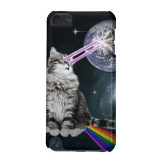 Bioworld Laser Eyes Space Cat iPod Touch 5G Cases