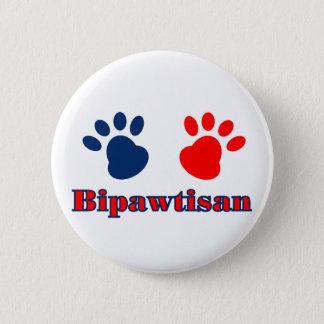 Bipawtisan Politics 2 Inch Round Button
