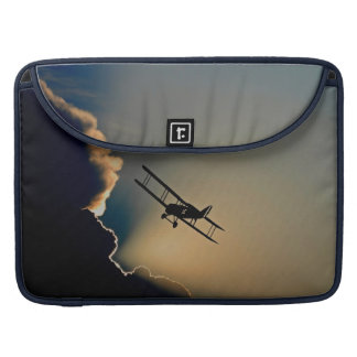 Biplane and sunset sleeves for MacBooks