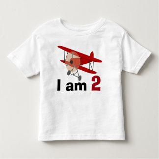Biplane Birthday Toddler T-shirt