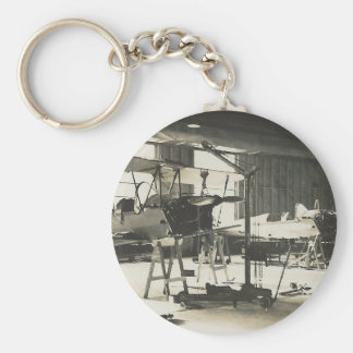Biplane Trainers In 1941 Keychain