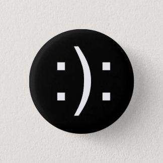Bipolar 1 Inch Round Button