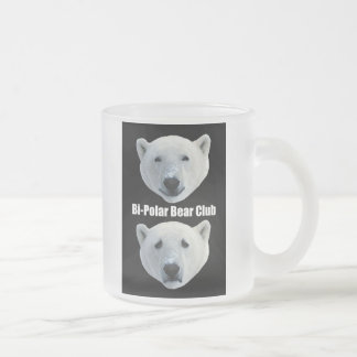 Bipolar Bear Club frosty mug