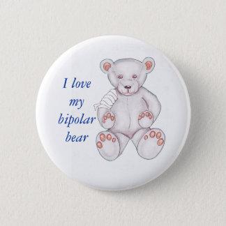Bipolar Bear Pin