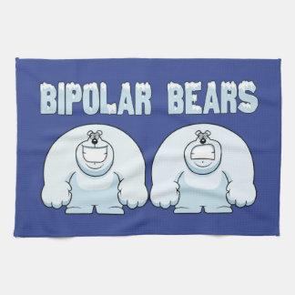 BIPOLAR BEARS KITCHEN TOWEL