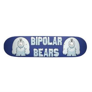 BIPOLAR BEARS SKATE DECK