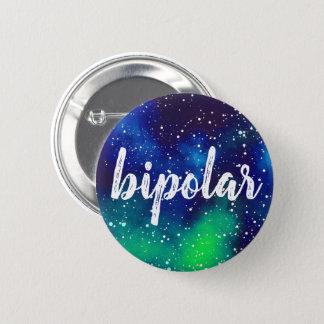 Bipolar Customizable Galaxy Identity 2 Inch Round Button