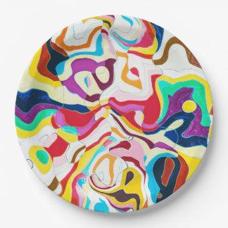 Bipolar Paper Plate