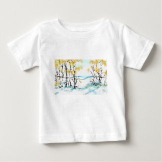 Birch and bunny baby T-Shirt