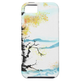 Birch and bunny iPhone 5 case