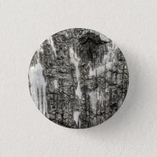 birch bark 1 inch round button
