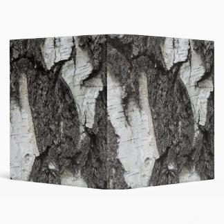 Birch bark 3 ring binder