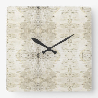 Birch Bark Clock