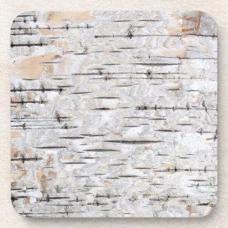 Birch Bark Coaster