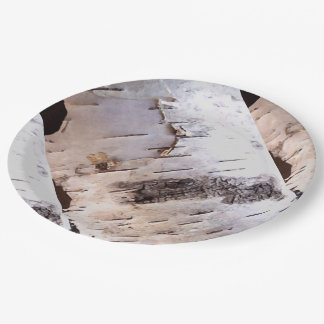 Birch Bark Paper Plate